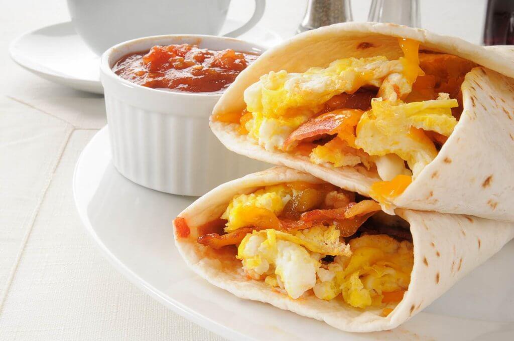 Déjeuner Burritos - Restaurant Le Survenant St-Esprit